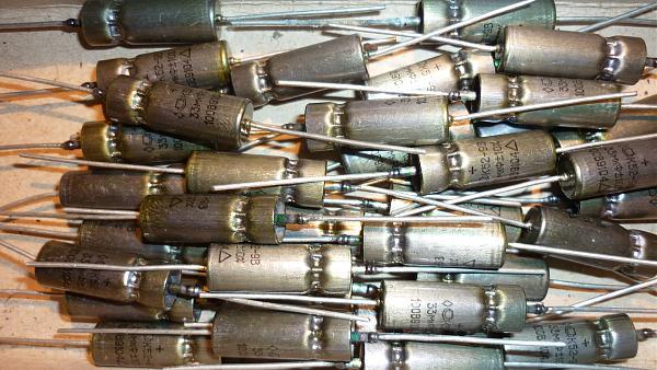 Продам Конденсаторы электролитические К52-9В на 100в