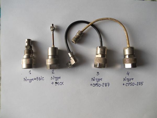Продам вилки - розетки N типа (ср50-270с)