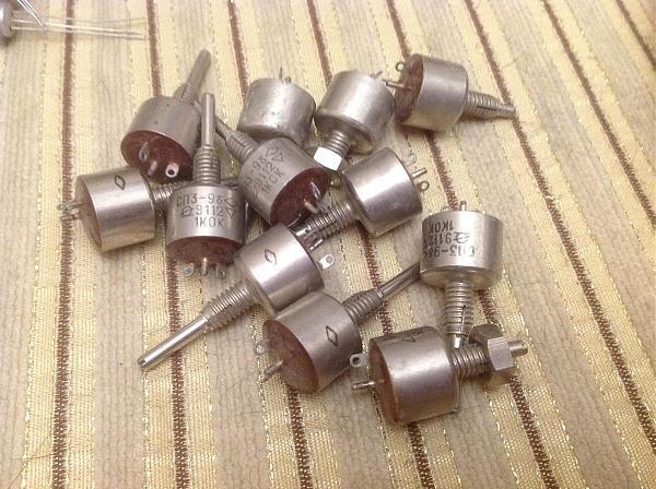 Продам Подстроечные резисторы СП4-1, СП3-9б