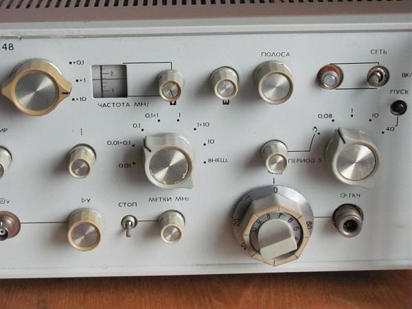 Продам Измеритель частоты и аплитуды Х1-48