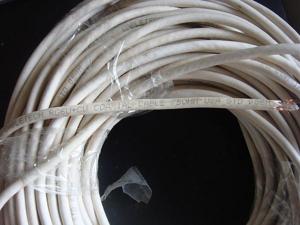 Продам 50 и 75 ом кабель