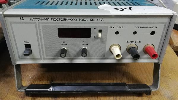 Продам Б5-47 источник питания постоянного тока 0-30В/0-3А
