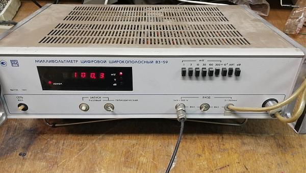Продам В3-59 вольтметр широкополосный