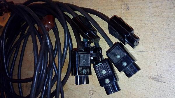 Продам Сетевые и измерительные кабели изм. аппаратуры