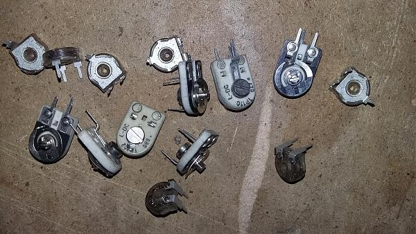 Продам Резисторы 5вт, 10вт, подстроечные