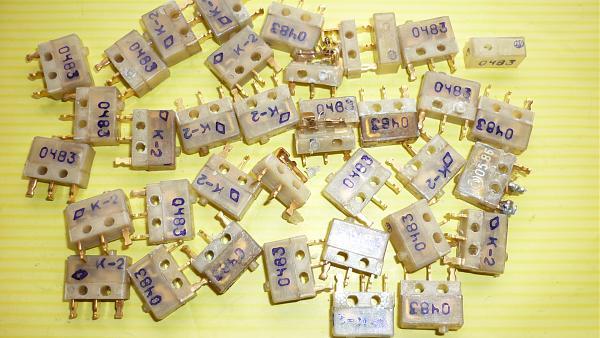 Продам Микропереключатели МКБ-1, МП29, ПМ25В
