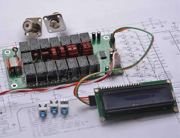 Продам Автоматический антенный тюнерN7DDC ATU-100 5x5,7x7