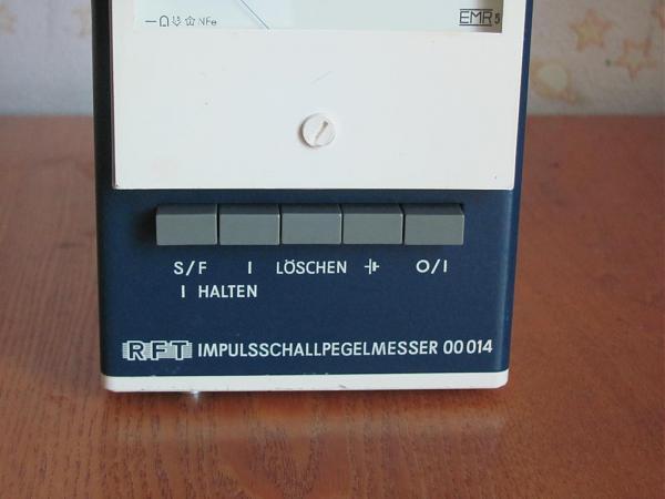 Продам RFT 00014 шумомер
