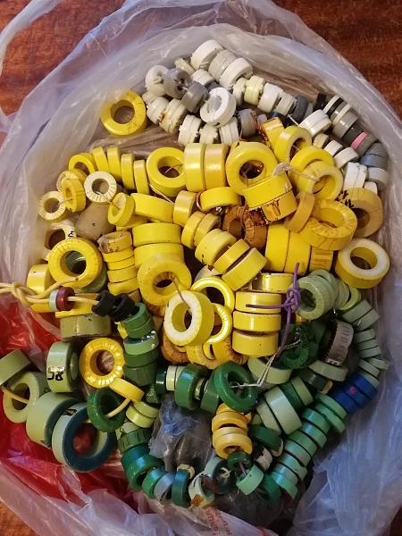 Продам Ферриты - кольца и трубки