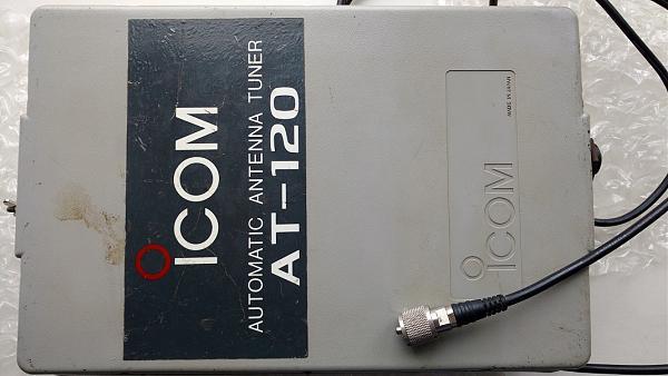 Продам Автоматический антенный тюнер АТ-120 (Япония)