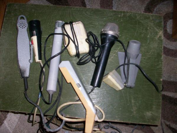 Продам микрофоны разные