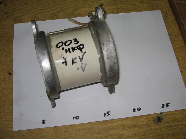 Продам конденсатор 0.03мкф 4квт для антенны
