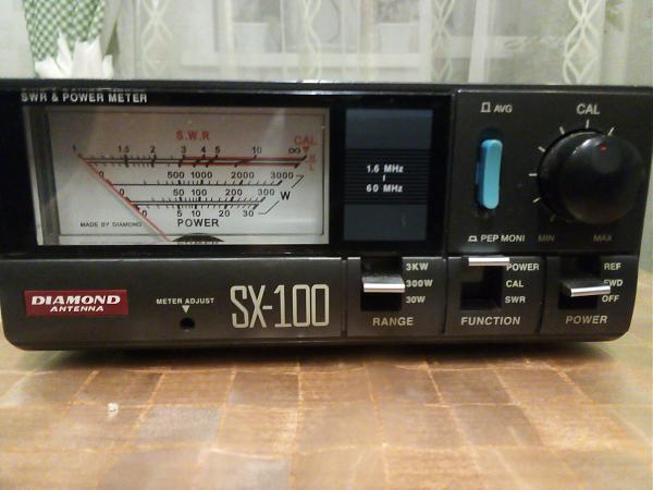 Продам КСВ-метр Diamond SX-100 (P до 3 кВт)