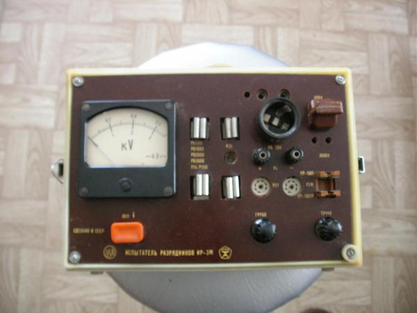 Продам испытатель разрядников ИР-3М