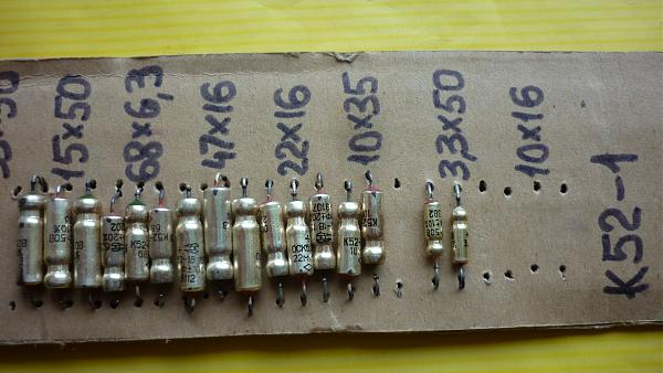 Продам Набор конденсаторов К52-1