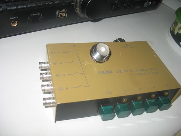Продам коммутатор 4 антенны ГДР
