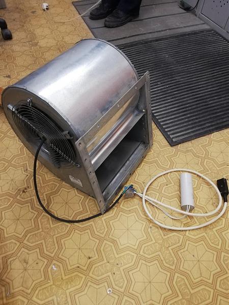 Продам Вентилятор Ebmpapst D4E225-CC01-21 центробежный A