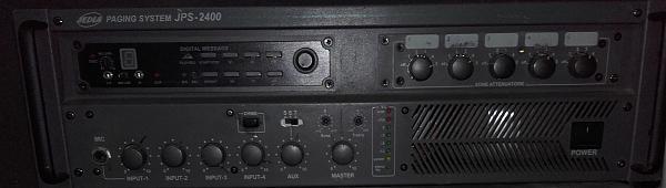 Продам Усилитель трансляционный JEDIA JPS-2400