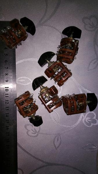 Продам переключатели галетные миниатюрные