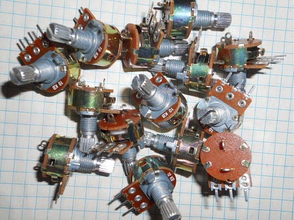 Продам резисторы для радиоприемников усилителей