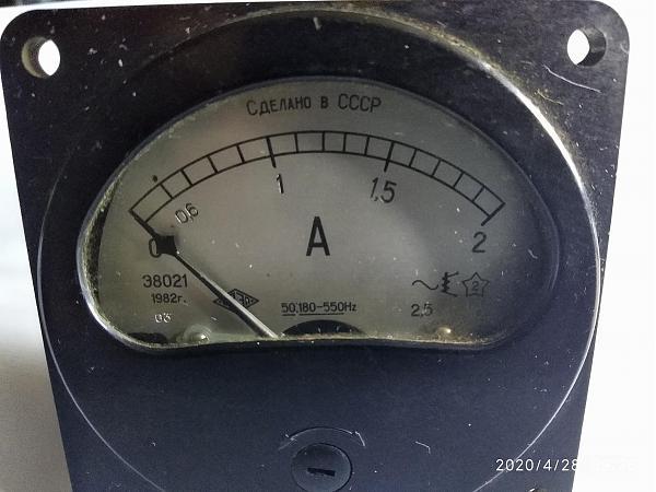 Продам Амперметр переменного тока Э8021 2А. 50.180-550