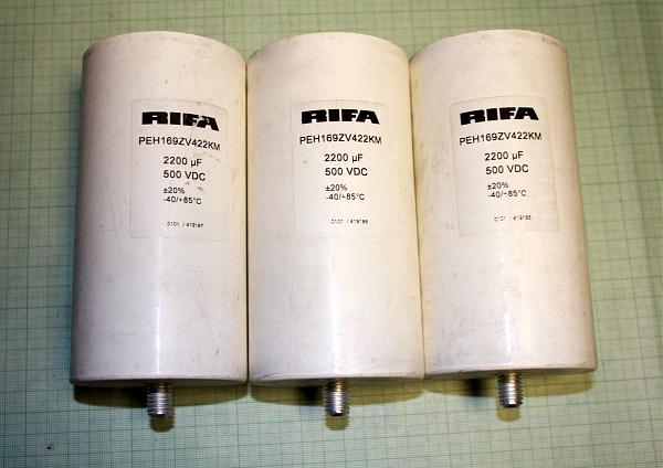 Продам Электролиты RIFA большой емкости