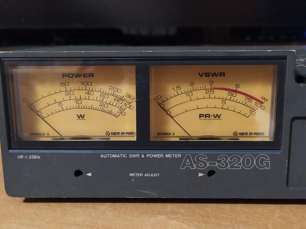 Продам КСВ метр TOKYO HY-POWER AS320-G