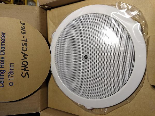 Продам Встраиваемая акустическая система Show CSL6106