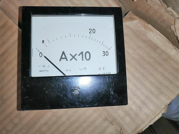 Продам Амперметр ЭА0702