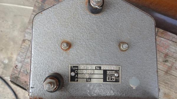 Продам нагрузка 8 ом-5 ампер.регулируемая