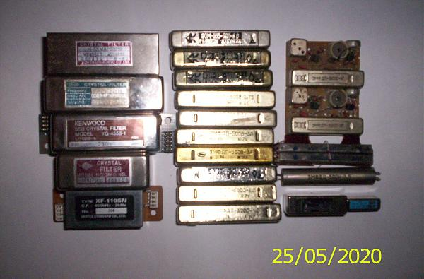 Продам кварцевые фильтры icom yaesu kenwood jrc