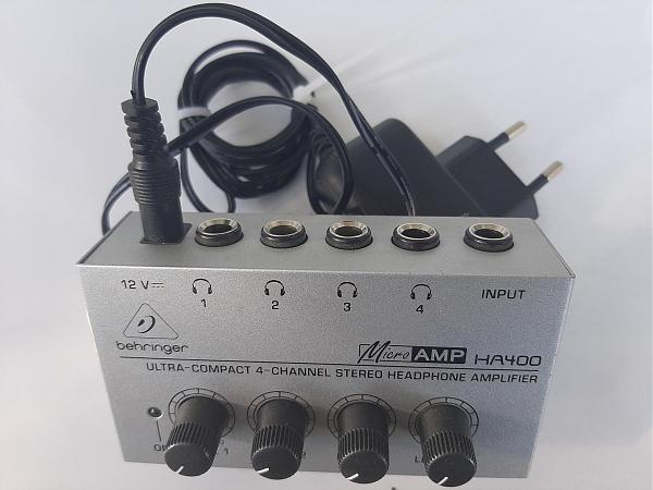 Продам 4-канальный микшер для стереотелефонов