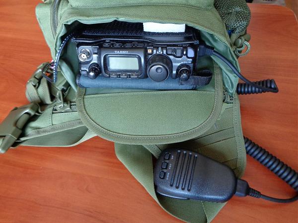 Продам Сумка для КВ рации FT-817/818, высокое качество
