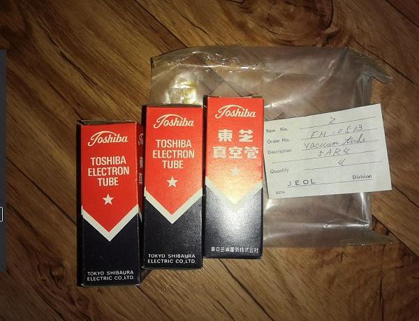 Продам Лампы звуковые 6CA7, 12AT7,12AU6 Toshiba