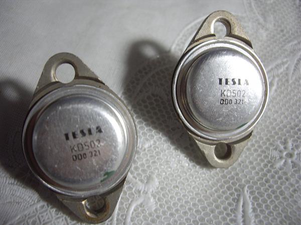 Продам Tesla kd502 транзистор Биполярный
