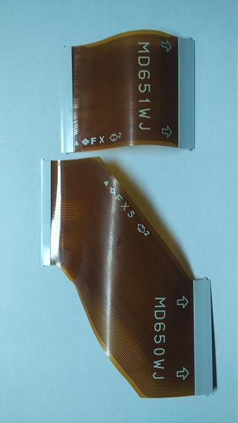 Продам Lvds шлейфы с T-con MD650WJ, MD651WJ