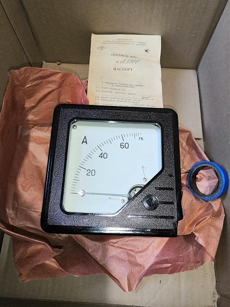 Продам Амперметр М367, 75А