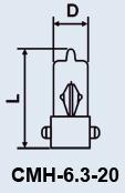 Продам Лампа СМН 6.3-20