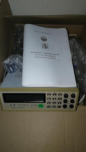 Продам В7-65/2 и В7-53/1 новые вольтметры