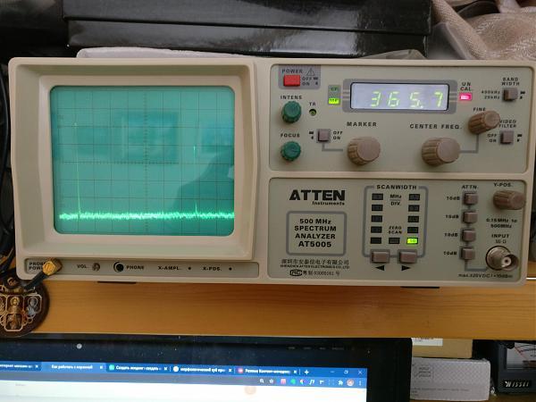 Продам Анализатор спектра ATTEN 5005 со всеми щупами