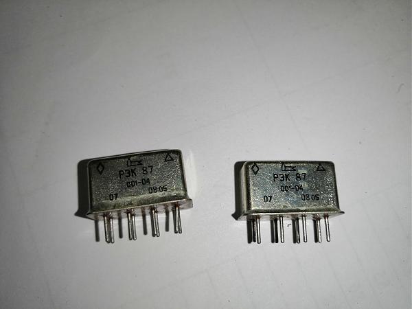 Продам Реле РЭК-87, 001-04