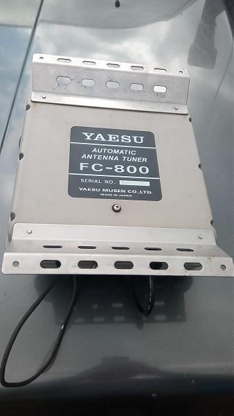 Продам YAESU FC-800 Антенный тюнер
