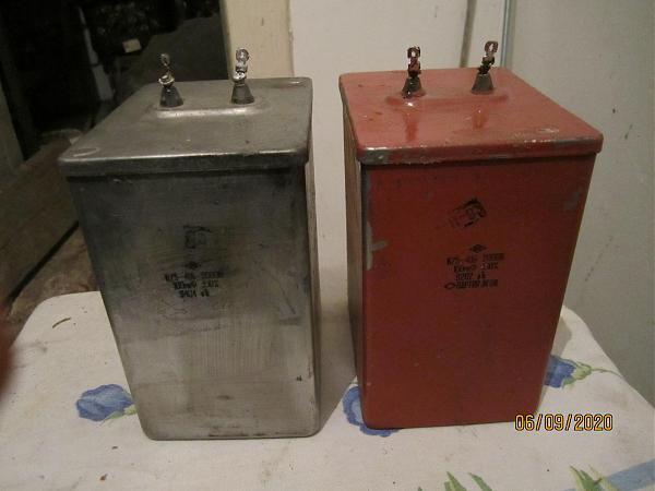 Продам конденсаторы к75-40б 100 мкф 2000в
