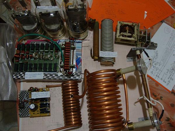 Продам Комплектующие для УМ на 2х ГУ-81М и прочих