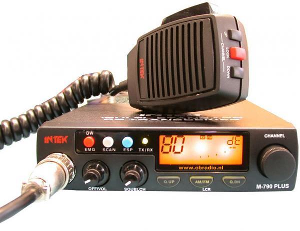 Продам CB Intek m-790