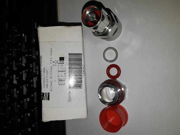 Продам разьёмы N-TYPE(male) и PL259 1/2, 3/8,8DFB,LMR400