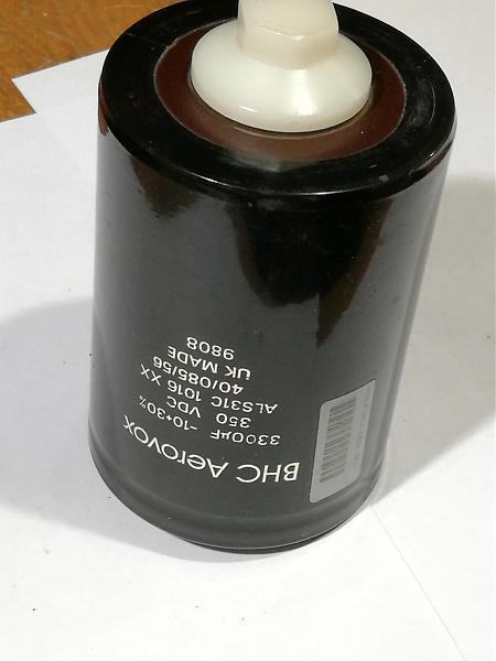 Продам конденсатор BHC Aerovox