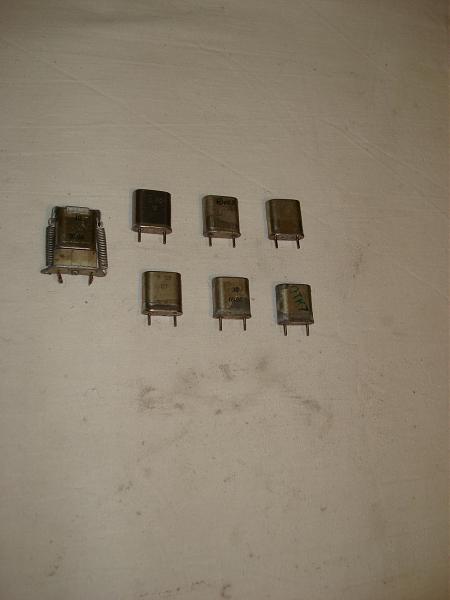 Продам Кварцевые резонаторы разные