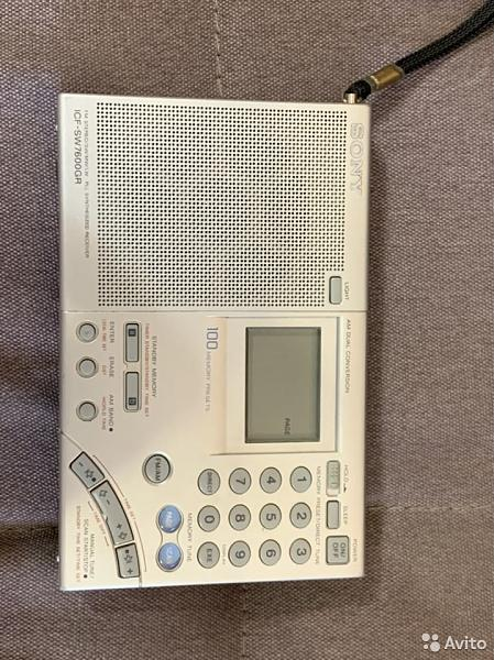 Продам радиоприёмник Sony sw7600gr