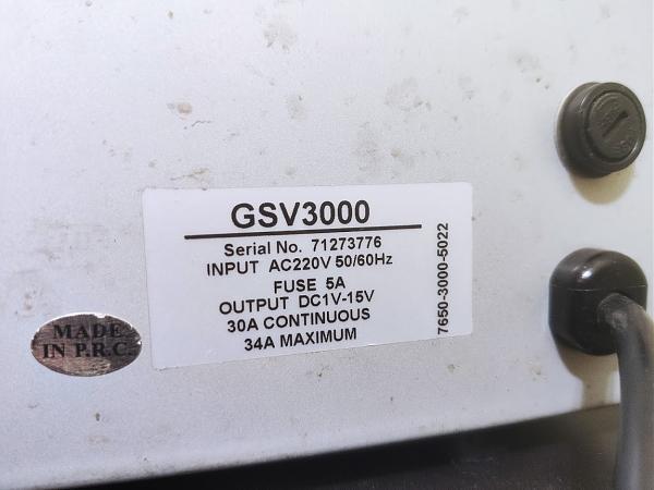 Продам Регулируемый блок питания Diamond GSV-3000